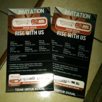Invitation NBL